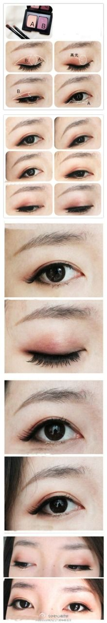 korean make up, I like this as day make up look natural