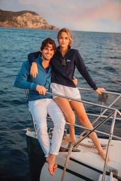 Sailing Outfit, Boating Outfit, Sailing Style, Segel Outfit, Estilo Ivy, Bootfahren Outfit, Mode Country, Classy Girl, Classy Couple