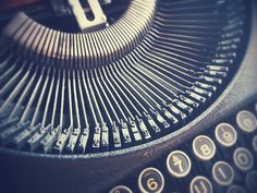 Brieven, Schrijfmachine, Vintage, Hipster, Antieke