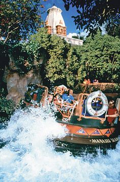 Kali River Rapids   (Animal Kingdom) omg I got so wet and drenched that the whole week at Orlando the pants were so wet  ps wear basket ball shorts so you don't get a suffocation