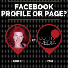 Do you know the difference between a Facebook Profile and a Facebook Page? Angela explains it all for you.