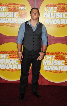 Clay Matthews - 2011 CMT Music Awards - Arrivals