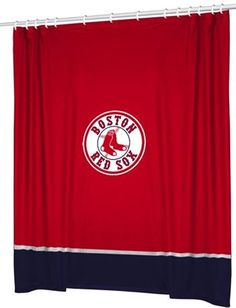 Use this Exclusive coupon code: PINFIVE to receive an additional 5% off the Boston Red Sox Shower Curtain at SportsFansPlus.com