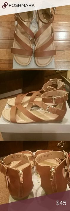 f76bbd12dfbe67 Franco Sarto sandals euc size 8 m Worn only once