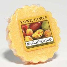Tarlettes Yankee Candle Mangue et Pêche Salsa