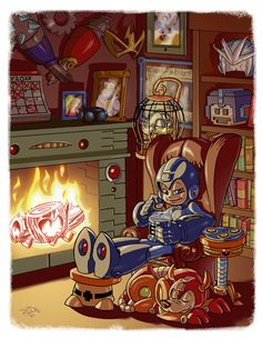 Megaman Tribute by ~Crazyskull on deviantART