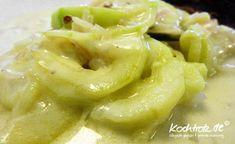warmes Rahm-Gurken-Gemüse  KochTrotz | kreative Rezepte