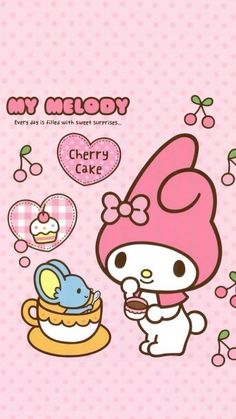 Image in My melody collection by ป่านแก้ว on We Heart It My Melody Wallpaper, Sanrio Wallpaper, Hello Kitty Wallpaper, Mobile Legend Wallpaper, Wallpaper S, Sanrio Characters, Cute Characters, Little Twin Stars, Little Star
