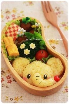 Elefante de arroz #Bento