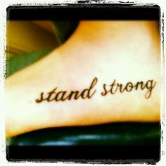 This is going on my foot, but the top of it. Not the side.