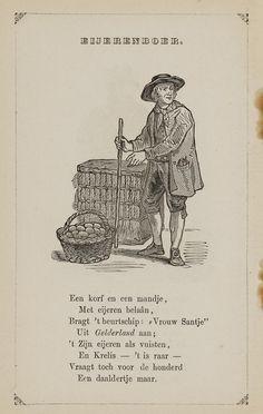 Eierenboer. Uit: Prentenboek: een ijverige hand vindt werk, 1850. Aanvraagnummer: 851998240