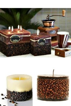 Coffee candles. Master class | Housewife