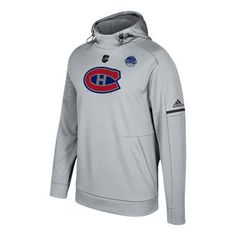 Montreal Canadiens adidas 2017 NHL 100 Team Logo Fleece Pullover Hoodie #habs #canadiens #montreal Montreal Canadiens, Nhl, Classic Collection, Adidas Men, Team Logo, Motorcycle Jacket, Style Inspiration, Sports Teams, Hoodies