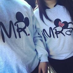 Mr & Mrs Mickey Mouse