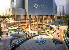 Landscape Architecture Design, Modern Architecture, Site Analysis Architecture, Plaza Design, Linear Park, Urban Design Plan, Public Realm, Future City, Urban Landscape