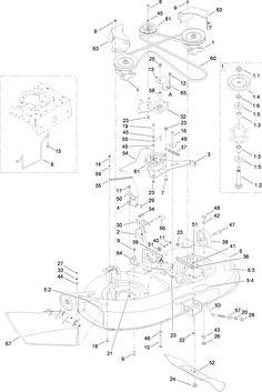 bolens 13am662f163 2003 lawn tractor schematics page a bolens rh pinterest com Bush Hog Schematics John Deere Schematics