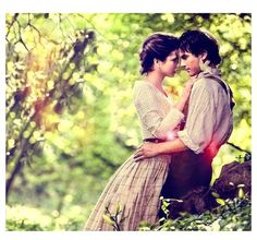 #TVD The Vampire Diaries Katherine Pierce & Damon Salvatore in 1864