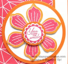 Bloom for You, A Round Array, Stampin' Up!, Brian King, PP201
