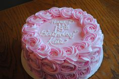 I so want this Rosette birthday cake