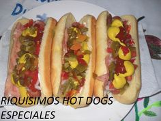 RICOS HOT DOGS ESPECIALES ( LOS ANGELES COCINAN )
