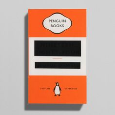 New cover for Orwell's 1984. I get it, and love it's wit & self-reference.