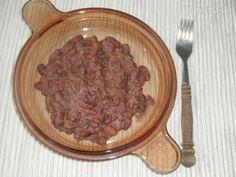 Mexická fazuľa - frijoles refritos - teda prepražená
