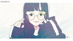 Cute Glasses, Cute Girl