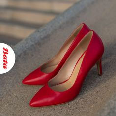 Want to add some fire to your look? Slip into some red-hot heels, et voila! Hot Heels, Personal Stylist, Kitten Heels, Stylists, Fire, Pumps, Shoes, Fashion, Moda