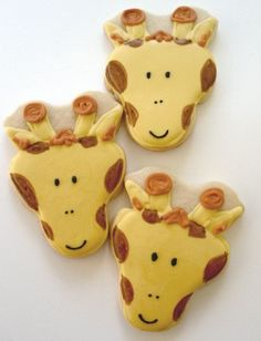 Giraffe 2 cookie idea