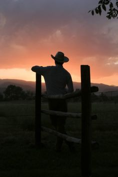 Sunset at the Shupe Homestead. Longmont, Colorado.