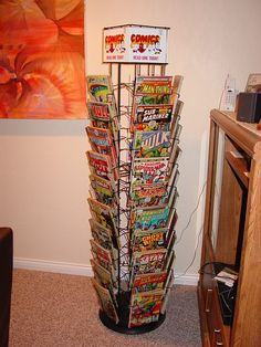 Always wanted a Comic Book Spinner Rack...