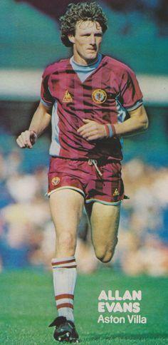 Allan Evans Aston Villa 1983