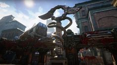 Gears of War 4 Official Blood Drive Multiplayer Map Flythrough This arena is blended together from the original Gears of War 2 take as well as the re-imagining from the third installment in the shooter series. January 10 2017 at 03:41PM  https://www.youtube.com/user/ScottDogGaming