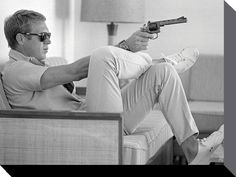 Ask a hundred (American) men to name a style icon and chances are the plurality will mention Steve McQueen. Born Terrence Steve McQueen in Beech Gr. Life Magazine, Maxim Magazine, Magazine Art, Classic Hollywood, Old Hollywood, Hollywood Actresses, Hollywood Style, Hollywood Icons, Steeve Mac Queen