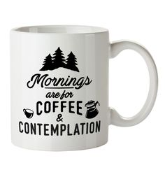 #Mornings Are For #Coffee And #Contemplation ##Mornings are #definitely for #coffee and #contemplation, but #theyre also for #flaunting your #favourite mug #while #doing so! If #youre a fan of #Stranger #Things, show your love for #Chief #Hopper and the gang with the help of this awesome mug!