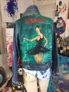 DIY Custom Kanye West 'Runaway' Jacket #MBDTF