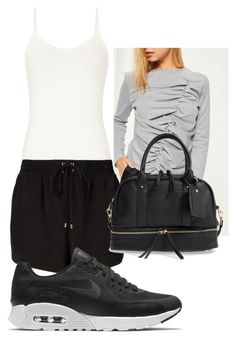 Cali Outfit #2 by chellzzbellzz on Polyvore featuring Missguided, Witchery, NIKE and Sole Society