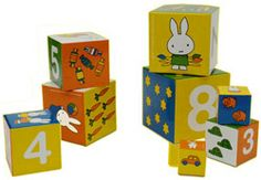 Cubes figures Miffy