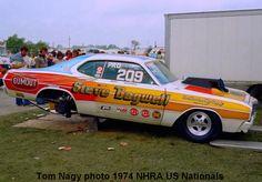 photos of steve bagwell drag cars | Steve Bagwell 1974 NHRA US Nationals - DRAG RacersReunion
