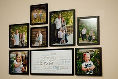 Tips for hanging pictures on the wall in the right place