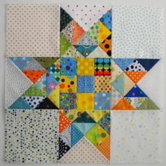Fabadashery: Part 4 - Bonnie Hunter's Celtic Solstice Mystery Quilt 2013