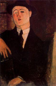 Portrait of Paul Guillaume - Amedeo Modigliani
