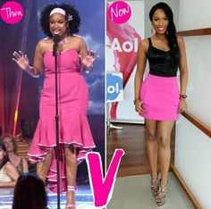 Seriously though, did you EVER think you would see J.Hud this skinny? Go girl!