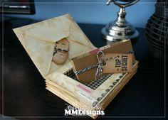 Scrap-a-licious-times: Faux Vintage Letterstack Box.