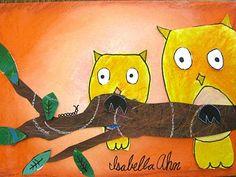 Great owl art!