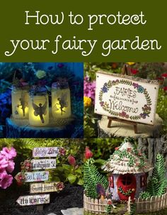 If you've spent time on your fairy garden, you'll probably want to protect it from the elements! Here's my secret ingredient for making it last. via @modpodgerocks