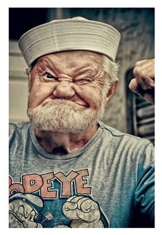 Popeye The Sailor Man is old but still looks good
