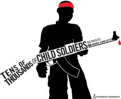 Help us keep weapons out of the hands of child soldiers! http://amnestyusa.org/weapons