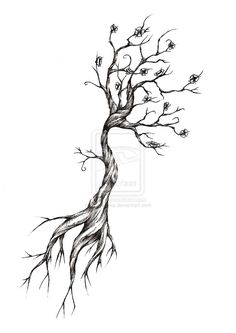 Tattoo ideas on Pinterest | Sun Tattoos Tree Tattoo Designs and Tree ...