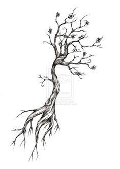 Tattoo ideas on Pinterest | Sun Tattoos Tree Tattoo Designs and Tree ...